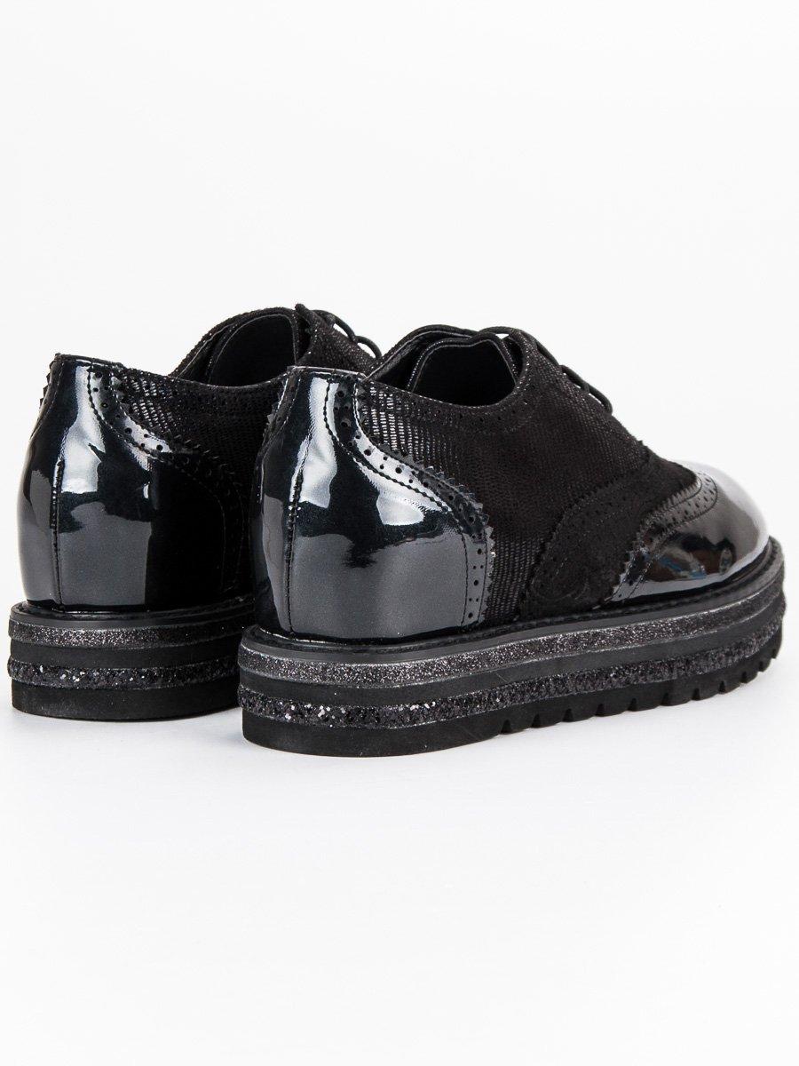 Czarne Buty Damskie Półbuty Lucky Shoes rozmiar 39